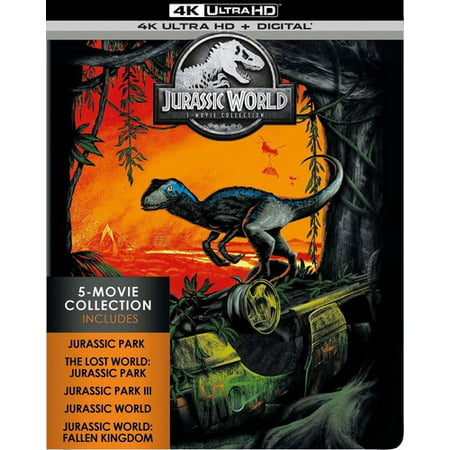 Jurassic World  5-Movie Collection (4K Ultra HD) - Walmart.com e744515b874b