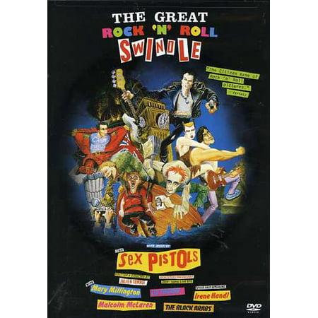 The Great Rock 'N' Roll Swindle (DVD) (Halloween Music Rock)