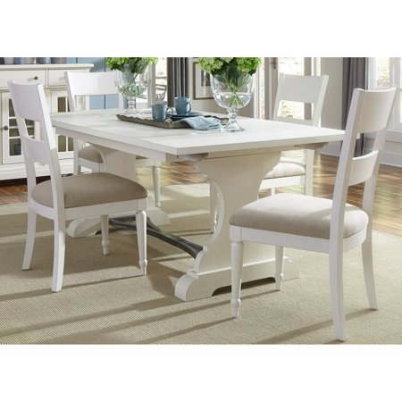Liberty Furniture Wheaton 5-piece Trestle Table (Lionel Graduated Trestle Set)