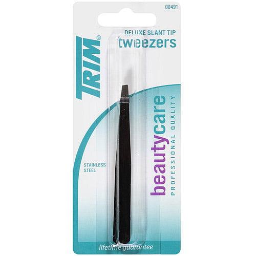 Trim Beauty Care Deluxe Slant Tip Tweezers
