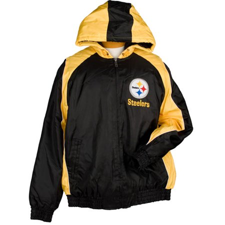 new arrival 28595 d5556 NFL - Men's Pittsburgh Steelers Winter Coat - Walmart.com