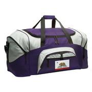 Broad Bay California Flag Duffel Bag or California Gym Bags
