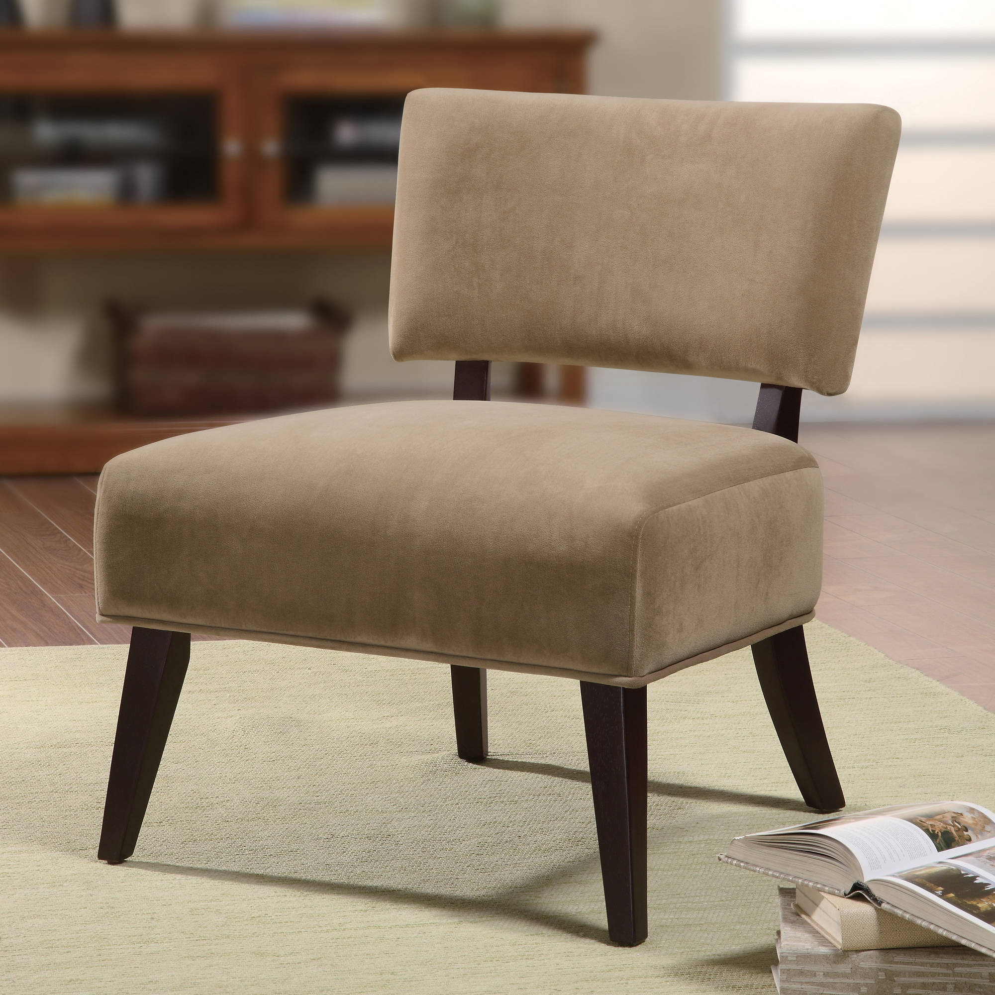Oversized Accent Chair Tan Walmart