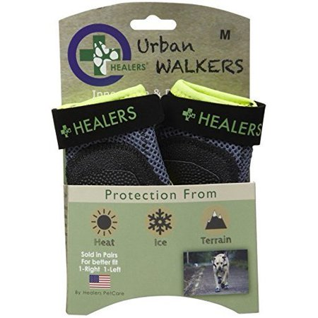(Healers Urban Walker Dog Boots - ( 2 boots per box) LARGE)