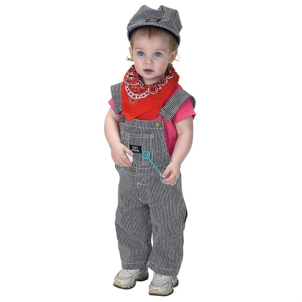Jr. Train Engineer Suit Infant Halloween Costume