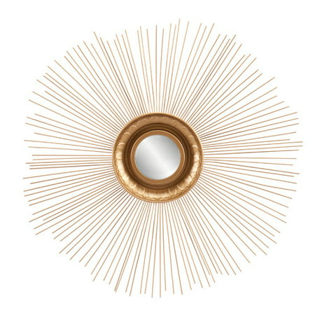 Willa Arlo Interiors Traditional Sunburst Accent Wall Mirror