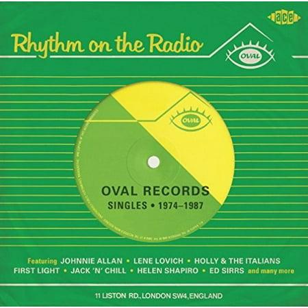 Rhythm on the Radio: Oval Records Singles 74-87 (CD)