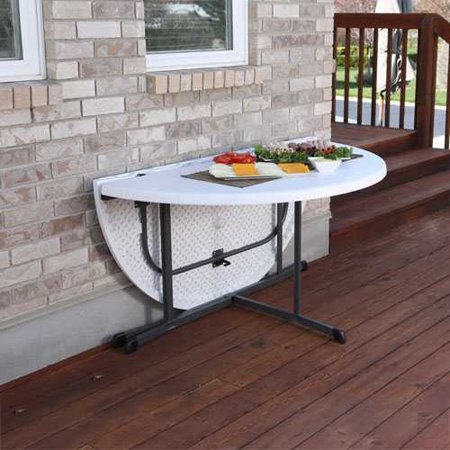 Lifetime 60 Round Folding Table  Set Of 8