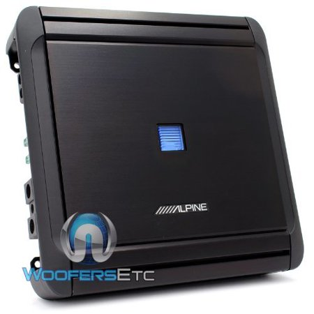 Alpine Mrv M500 Amp 1Channel 1000W Max Subwoofers Speakers Bass Amplifier New