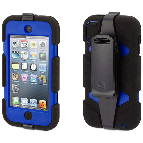Griffin Survivor Extreme-Duty Case for Apple iPod touch 5G, Blue