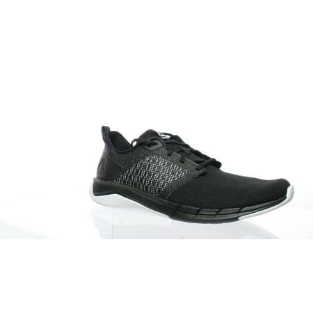 Reebok Mens Print Run 3.0 Black/White Running Shoes Size