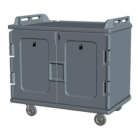 CAMBRO EAMDC1418S20194 Meal Delivery Cart,44 In. H,Granite Sand G9833022