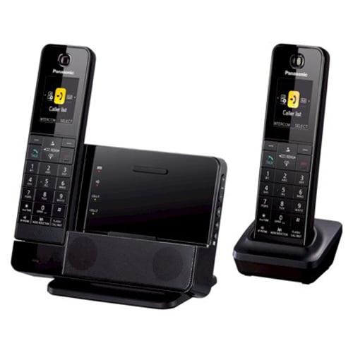 Panasonic KX-PRD262B 2 Handset Premium Series 1.9GHz Cordless Phone DECT 6.0 New