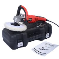 """New 7"""" Electric Car Polisher Variable Speed Buffer Waxer Sander Detail Boat"""