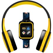 Batman Smartwatch with Headphones: Camera, Learning Games, Birthday Gift for Boys (Batman)