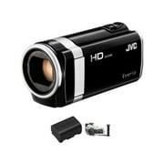 JVC GZ-HM650 GZ-HM650BUSM HD Everio Camcorder Bundle 3