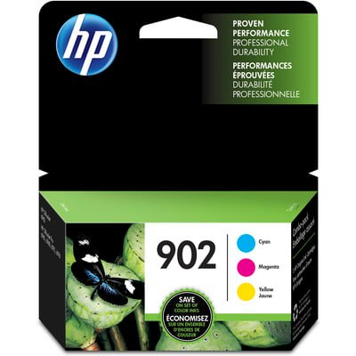 HP 902 CMY Ink Cartridge Combo 3-Pack ()