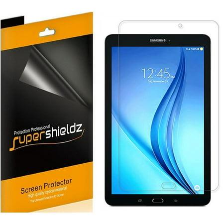 [3-Pack] Supershieldz for Samsung Galaxy Tab E 8.0 Screen Protector, Anti-Bubble High Definition (HD) Clear