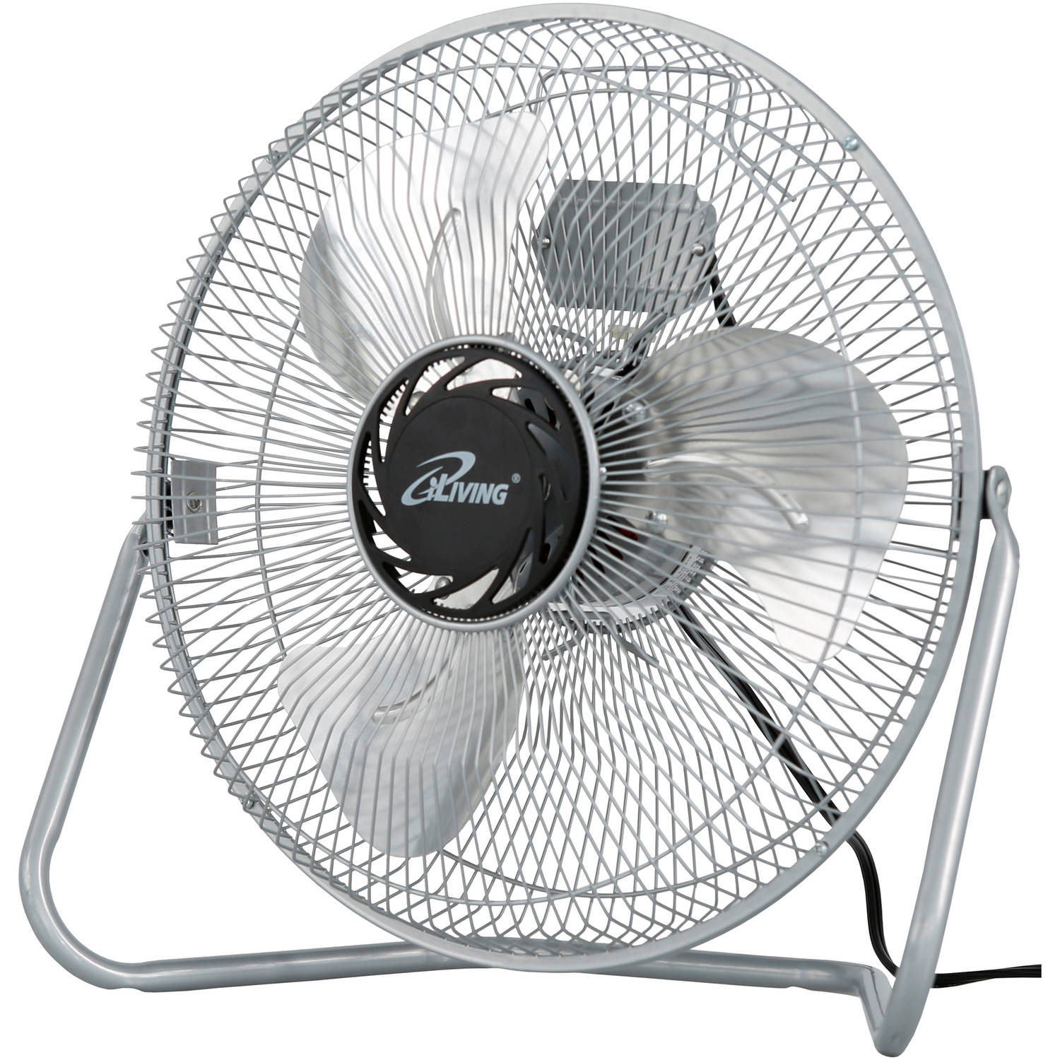"iLIVING 12"" Industral Grade 3-Speed High Velocity Floor Fan"