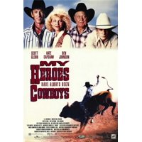 "My Heroes Have Always Been Cowboys - movie POSTER (Style C) (11"" x 17"") (1991)"