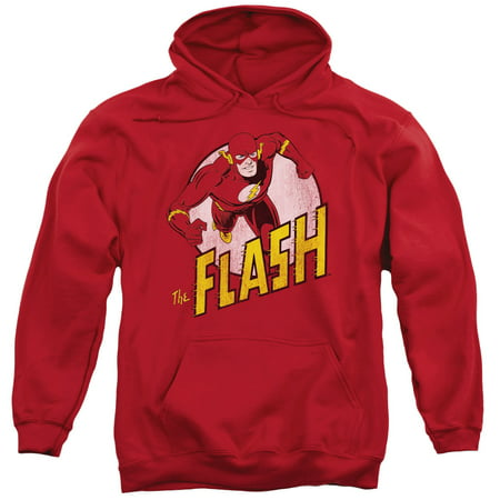 Dc Mens Sweatshirt (DC Comics The Flash Mens Pullover)