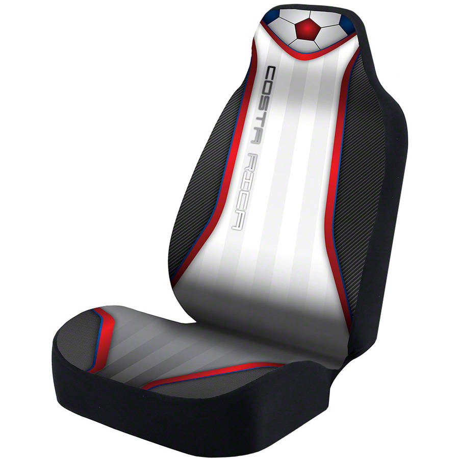 Coverking Universal Seat Cover Designer Ultra Suede, World Cup Costa Rica