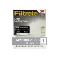 Clean Living Dust Reduction HVAC Furnace Air Filter, 300 MPR, Pack of 4 Filters