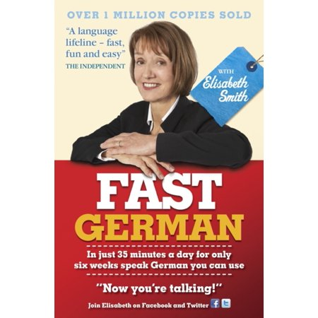 Fast German With Elisabeth Smith  Coursebook Only   Paperback