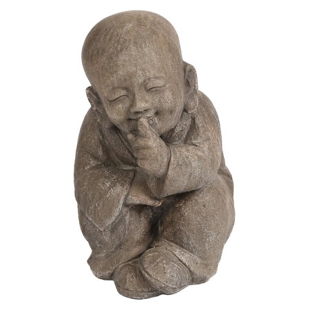 Winsome House Quiet Little Buddha Statue ()