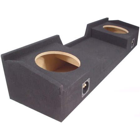 Custom Gmc Sierra Ext Cab 99-06 Truck Dual 10 Subwoofer Enclosure Bass Sub Box