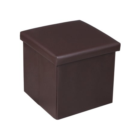 CBD Square Folding Cube Storage stool Simple Modern Brown 1