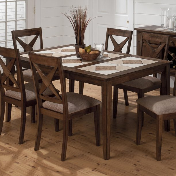Tucson Dining Table With Ceramic Tile Walmart Com Walmart Com