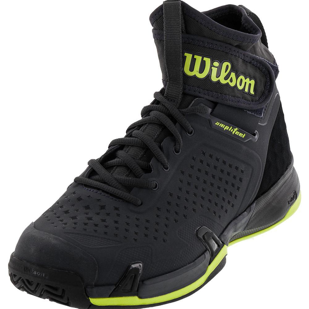 Wilson Men`s Amplifeel All Court Tennis Shoes Ebony and B...