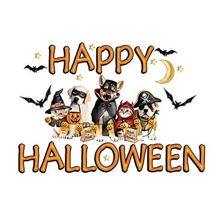 Happy Halloween Animal Garage Door Magnets