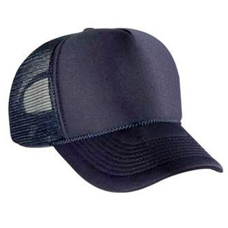 Otto Cap Polyester Foam Front Five Panel Pro Style Mesh Back Caps - Hat / Cap for Summer, Sports, Picnic, Casual wear and Reunion etc](Tam Hat)