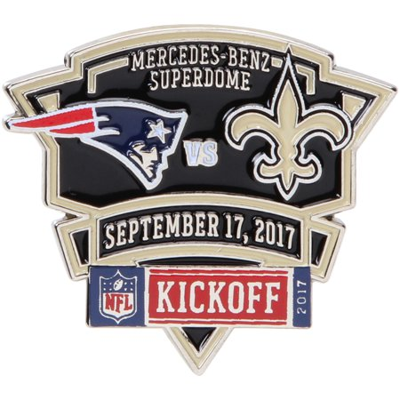 New Orleans Saints vs. New England Patriots WinCraft 2017 Matchup Game Pin - No