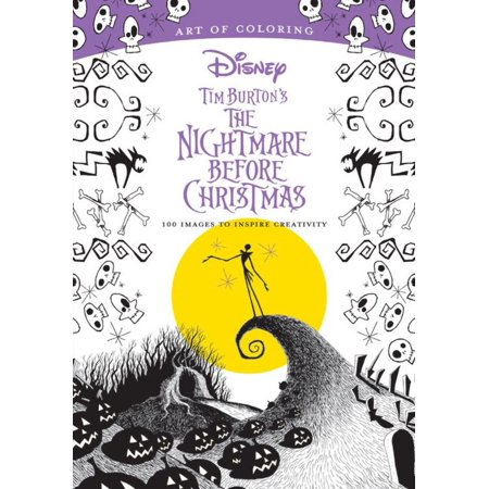 Art Tin - Art of Coloring: Tim Burton's the Nightmare Before Christmas: 100 Images to Inspire Creativity