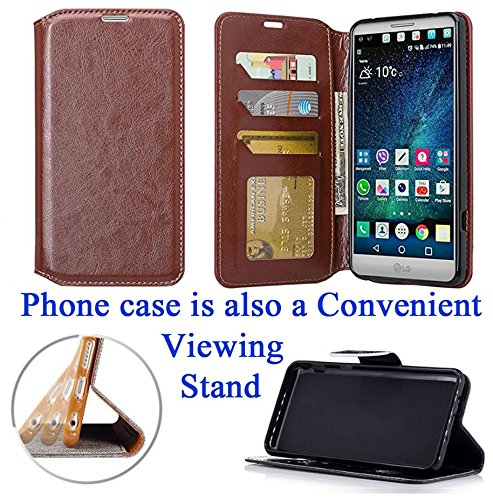 """for 5.7"""" LG V 20 v20 Case Phone Case Hybrid Fold Wallet Kick Stand Pouch Card Pocket Purse Grip Grained Screen Flip Cover Stained Glass"""