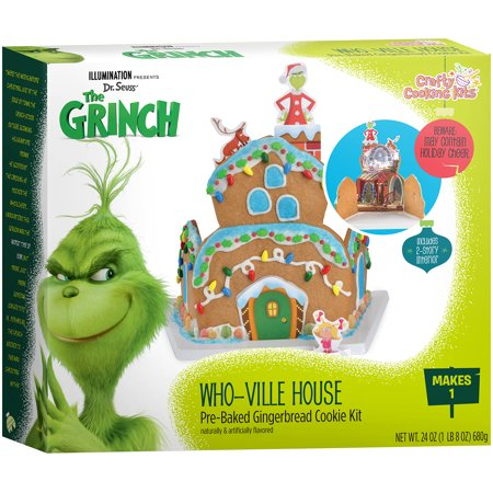crafty cooking kits grinch whoville gingerbread house kit walmart com