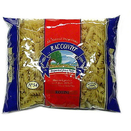 Racconto Rotini Pasta, 16 oz (Pack of 20)