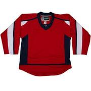 4970dfd642c TronX DJ300 Washington Capitals Dry Fit Hockey Jersey (Red)