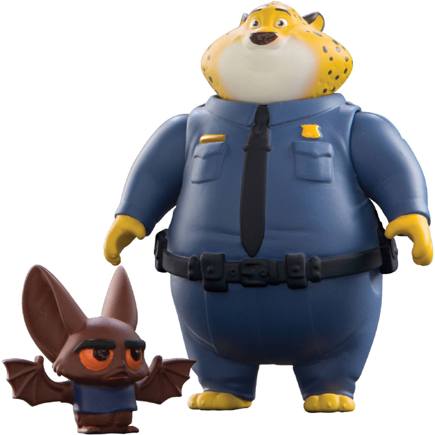 Zootopia Clawhauser and Bat Eyewitness Small figures