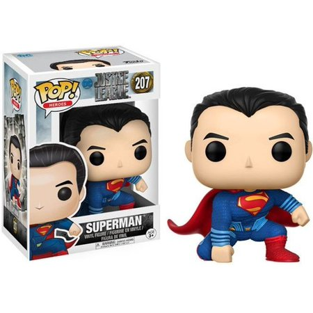 Funko Pop  Movies  Dc   Justice League   Superman