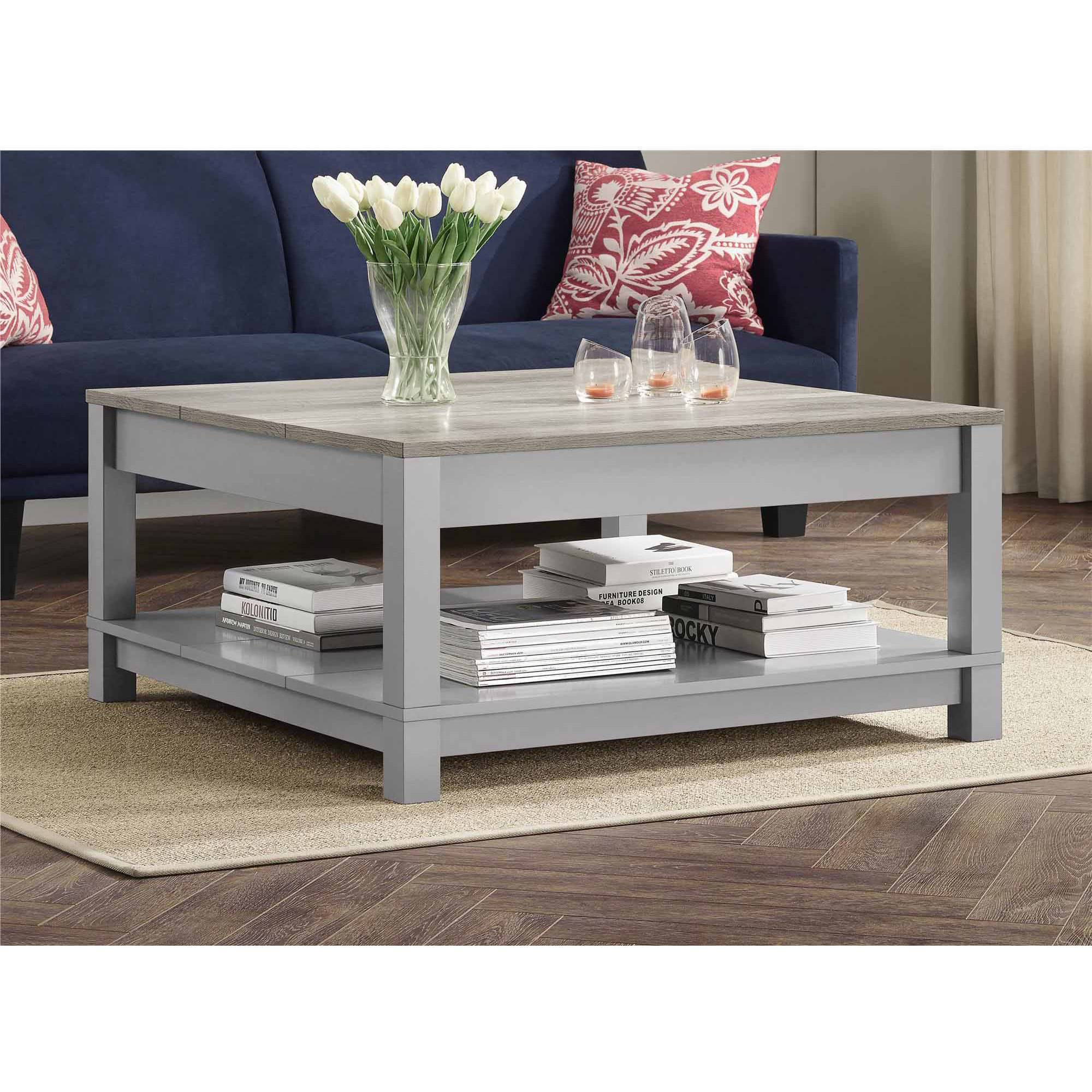 Better Homes and Gardens Langley Bay Coffee Table  Gray Sonoma Oak   Walmart  com. Better Homes and Gardens Langley Bay Coffee Table  Gray Sonoma Oak