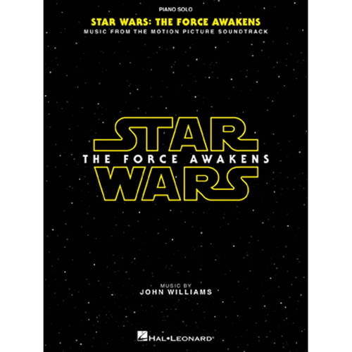 Star Wars: Episode VII The Force Awakens Piano Solo Songbook