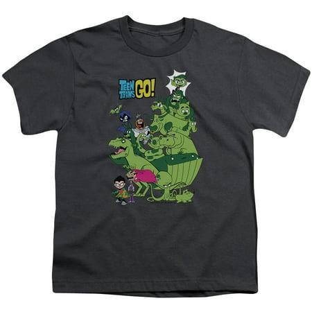 Teen Titans Go Beast Boy Stack Big Boys Youth Shirt - Teen Boys 69