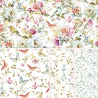 "David Textiles Cotton 36"" x 44"" Beautiful Romance Collection Pre-Cut Fabric, 1 Each"