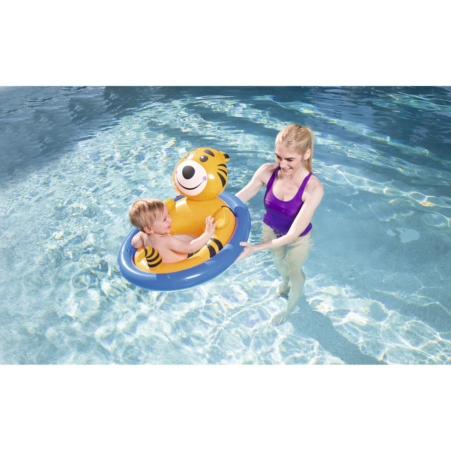 H2OGO! Lil Animal Pool Float - Tiger