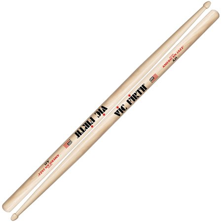 Vic Firth AJ1 American Jazz Wood Tip Drumsticks