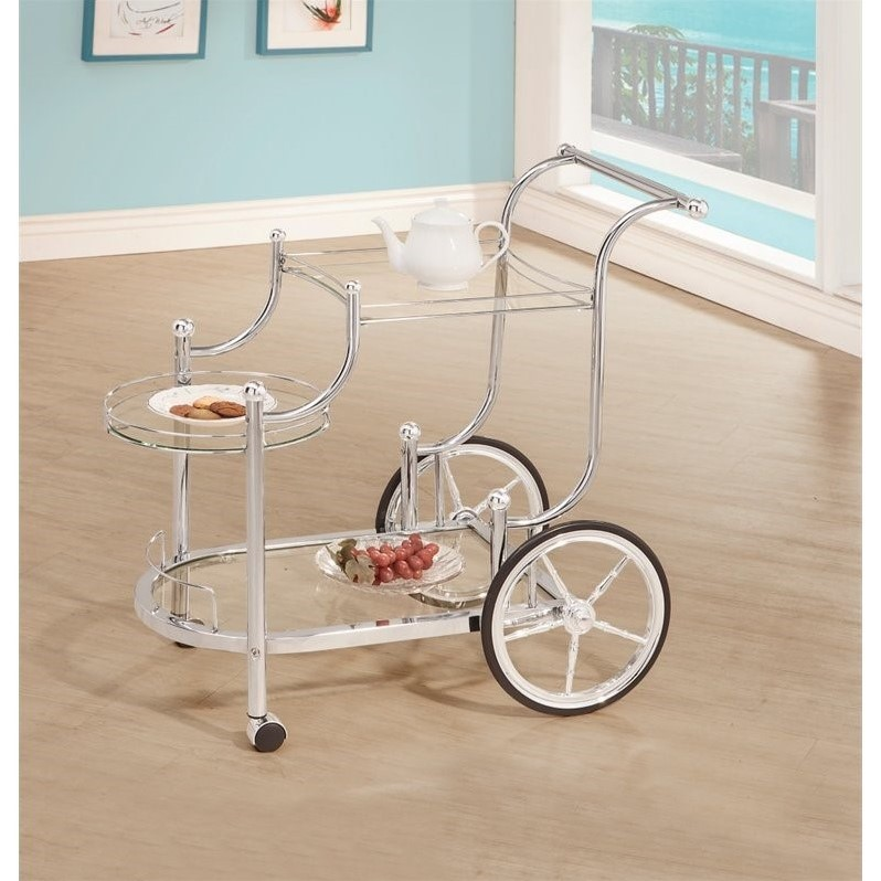 Coaster Serving Cart, Item 910076 by Coaster